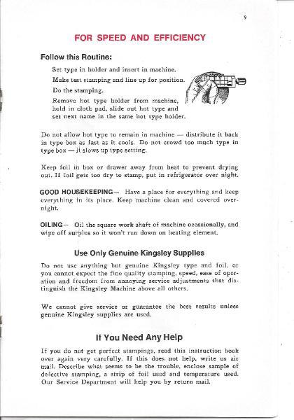 kingsley machine company